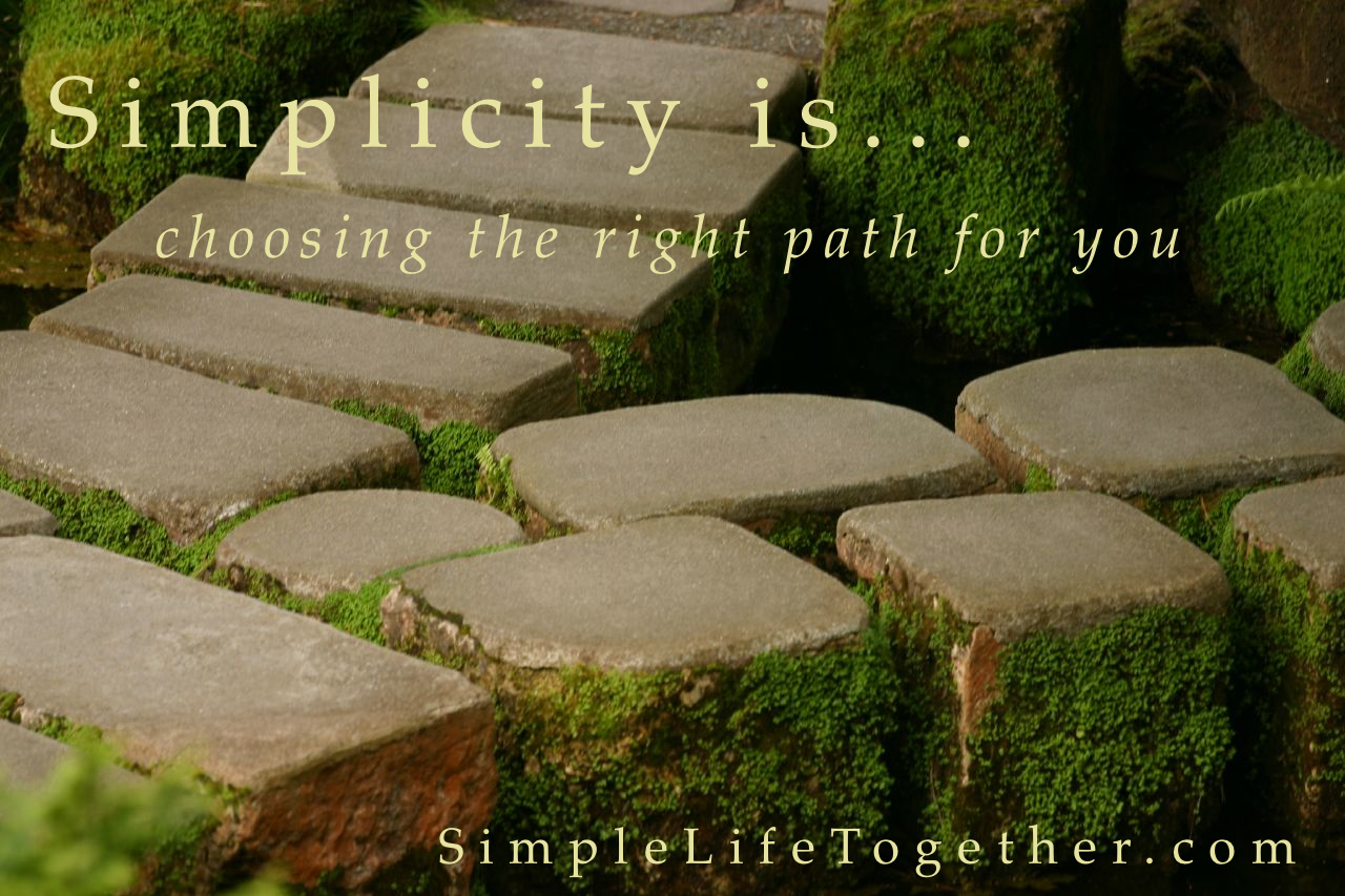 Simplifying simple life together for Simplistic lifestyle